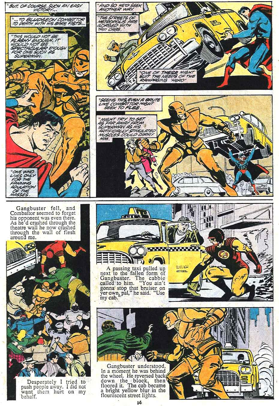 Read online Adventures of Superman (1987) comic -  Issue #437 - 14