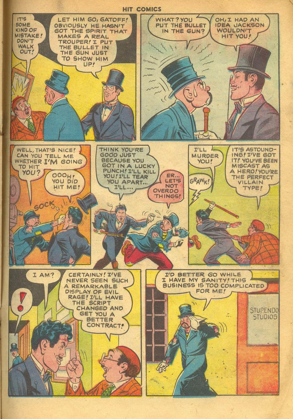 Read online Hit Comics comic -  Issue #60 - 21