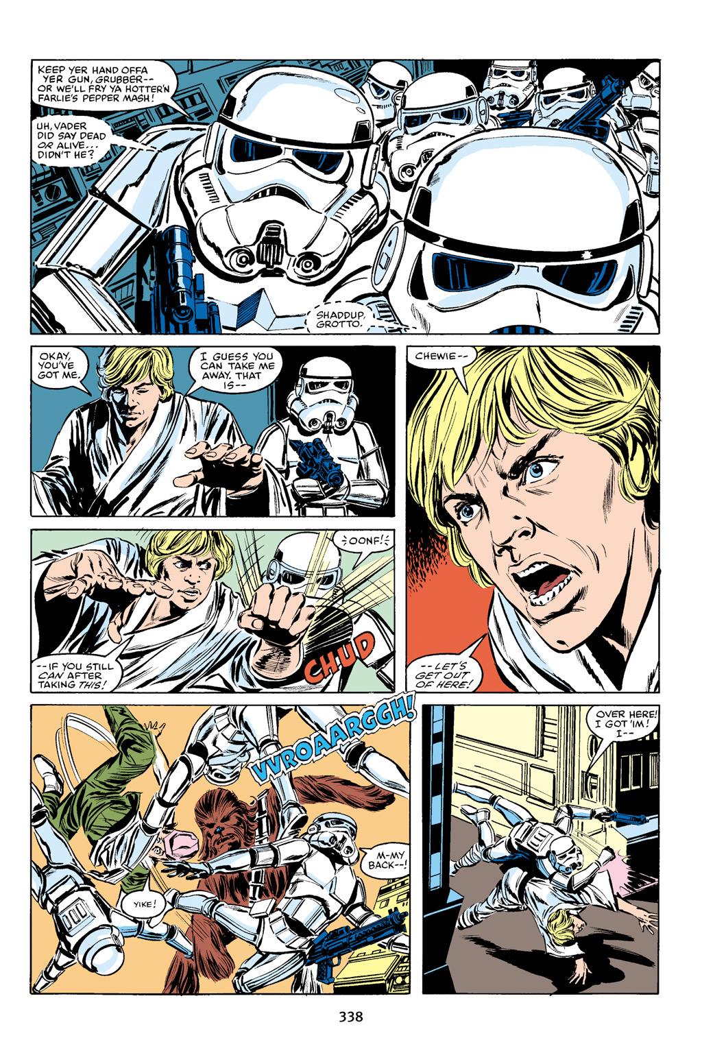 Read online Star Wars Omnibus comic -  Issue # Vol. 16 - 332