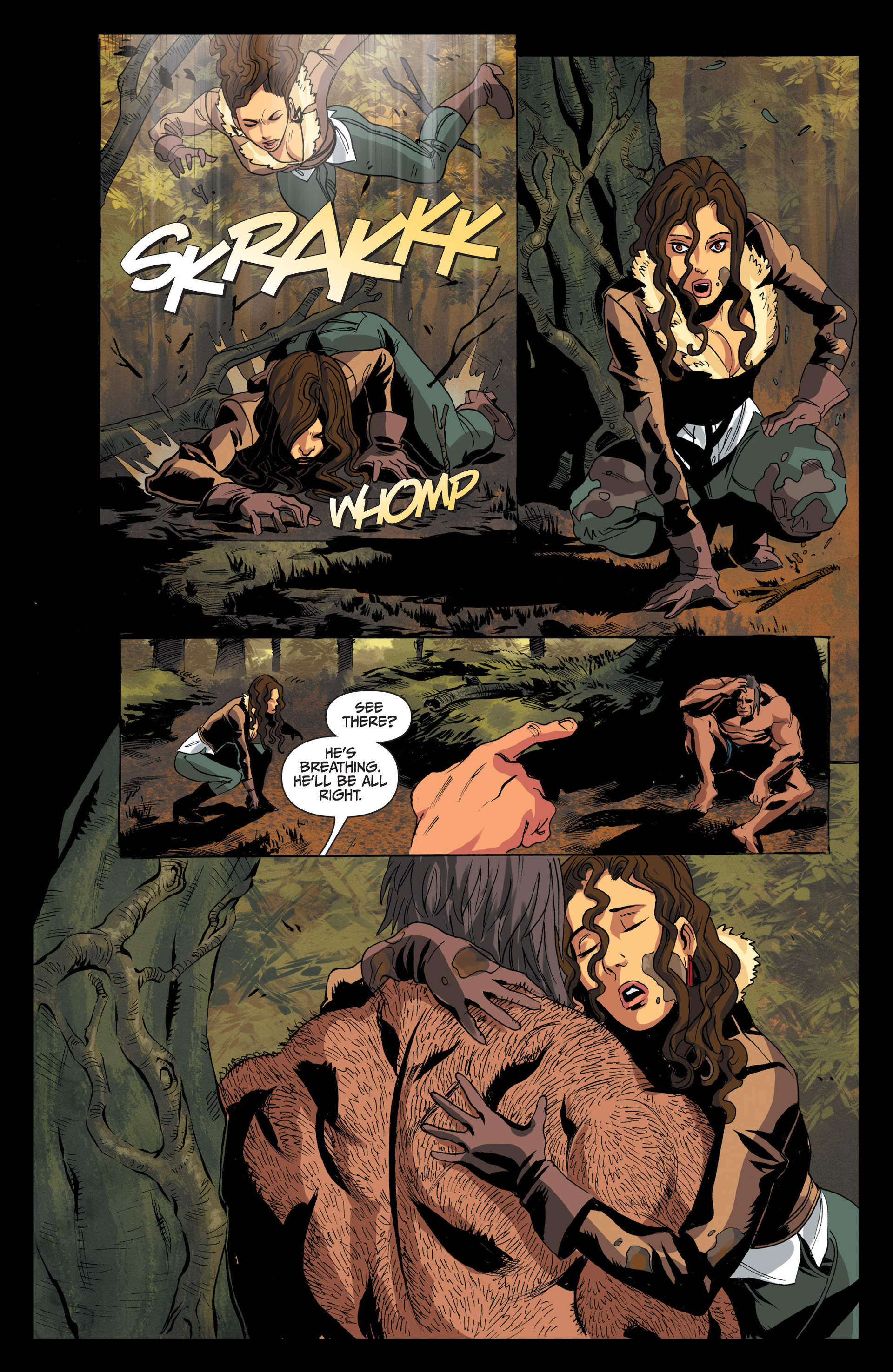 Read online Jim Butcher's The Dresden Files: Fool Moon comic -  Issue #4 - 13