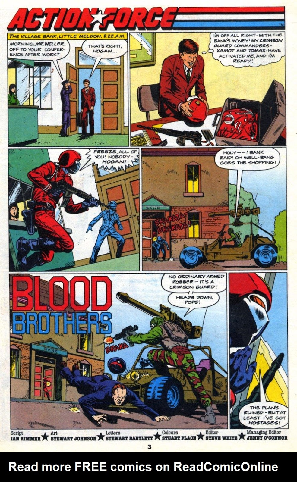 G.I. Joe European Missions issue 10 - Page 3