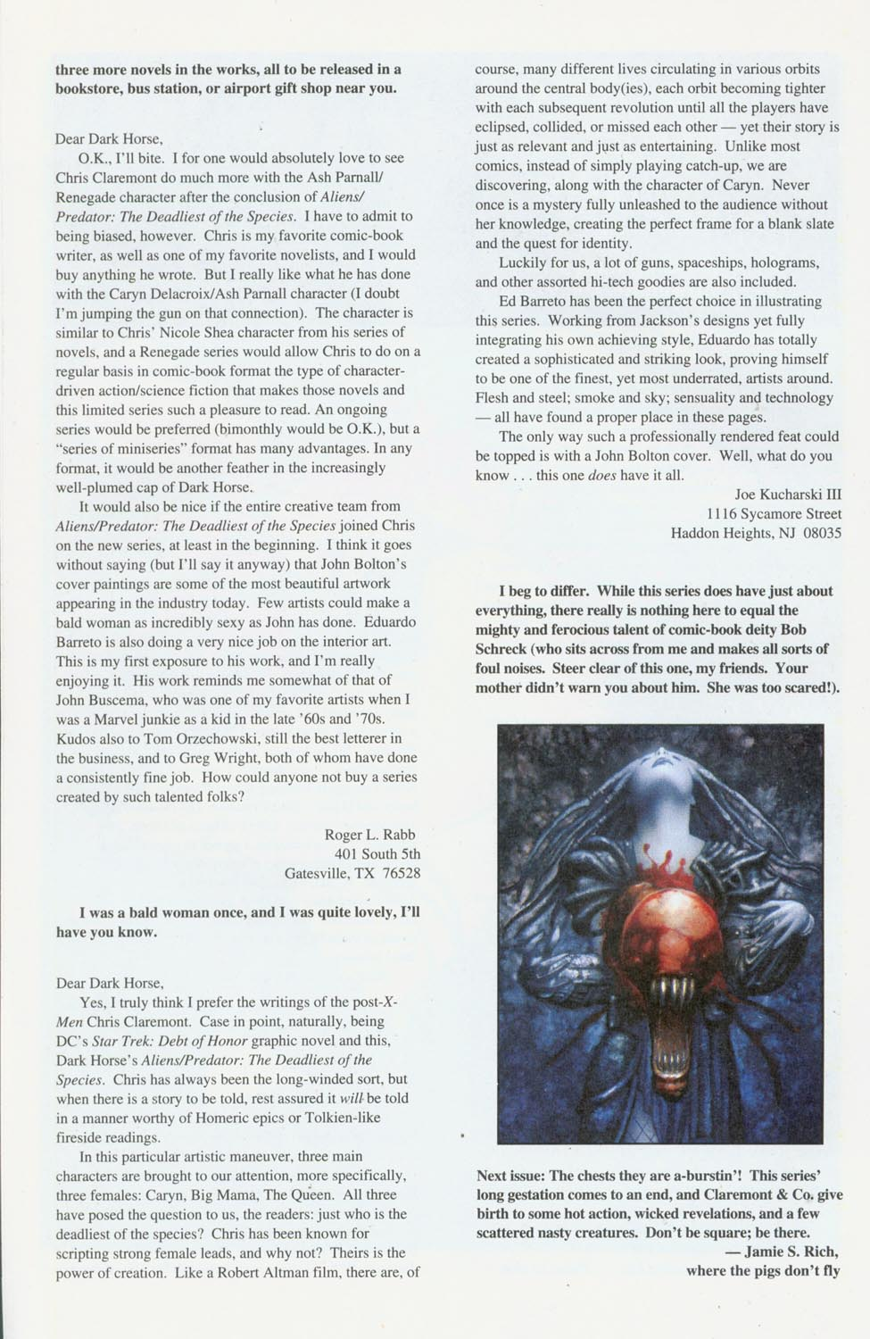 Read online Aliens/Predator: The Deadliest of the Species comic -  Issue #11 - 27