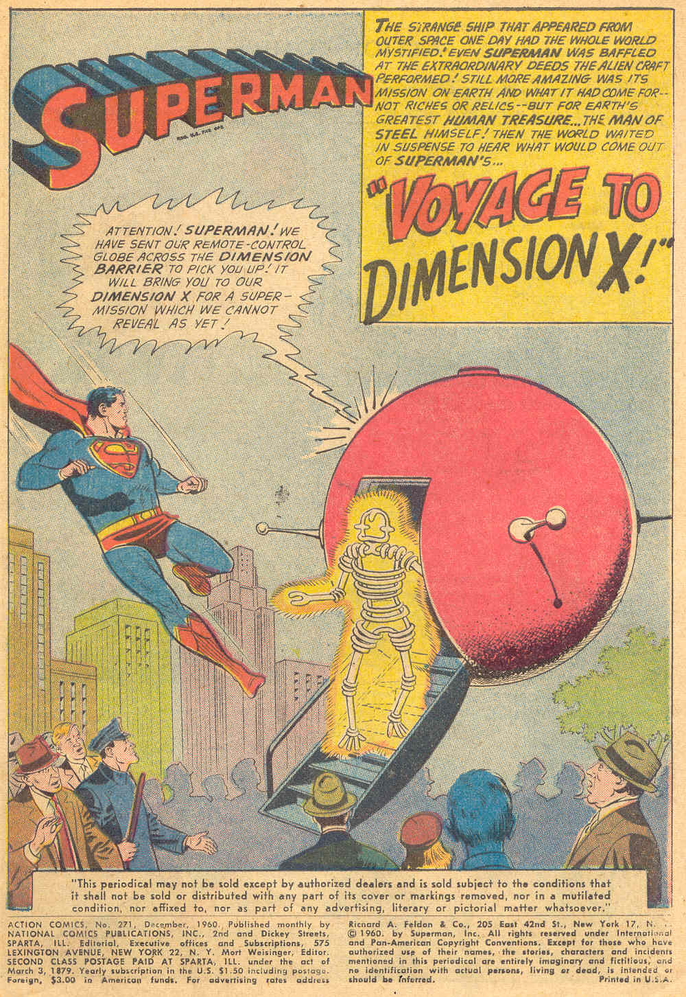 Read online Action Comics (1938) comic -  Issue #271 - 3