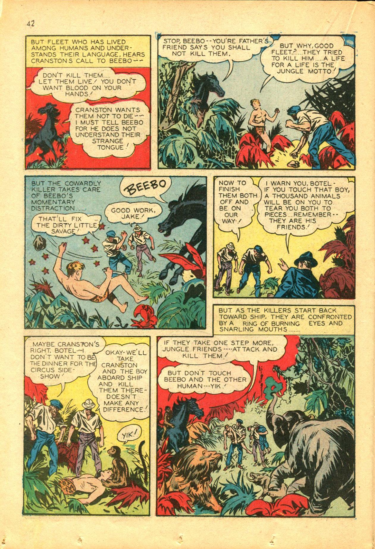 Read online Shadow Comics comic -  Issue #30 - 42