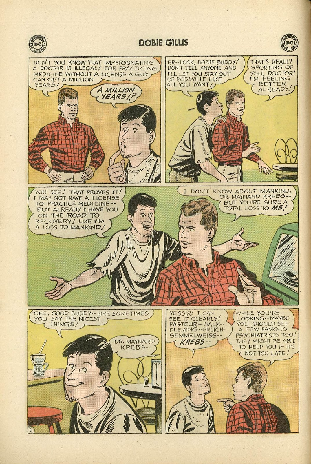 Many Loves of Dobie Gillis issue 22 - Page 8