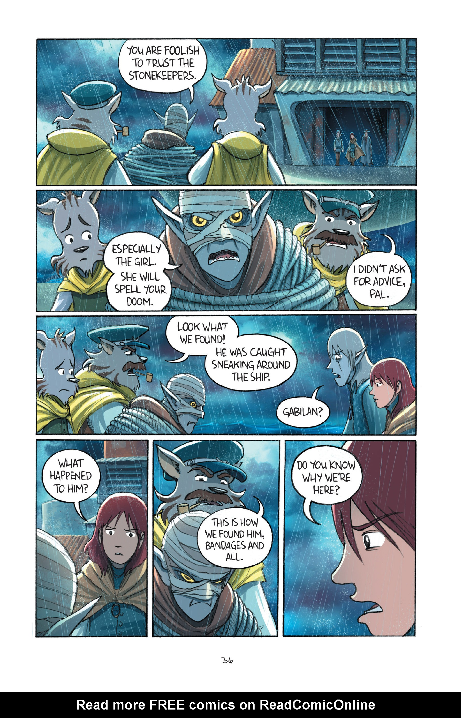 Read online Amulet comic -  Issue #7 - 39