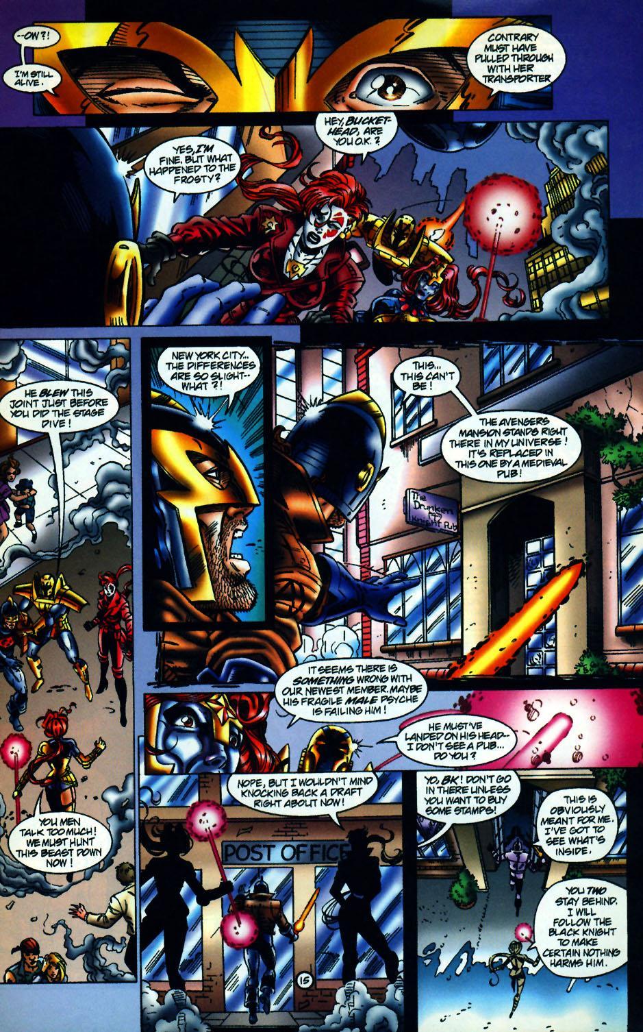Read online UltraForce (1994) comic -  Issue #10 - 16