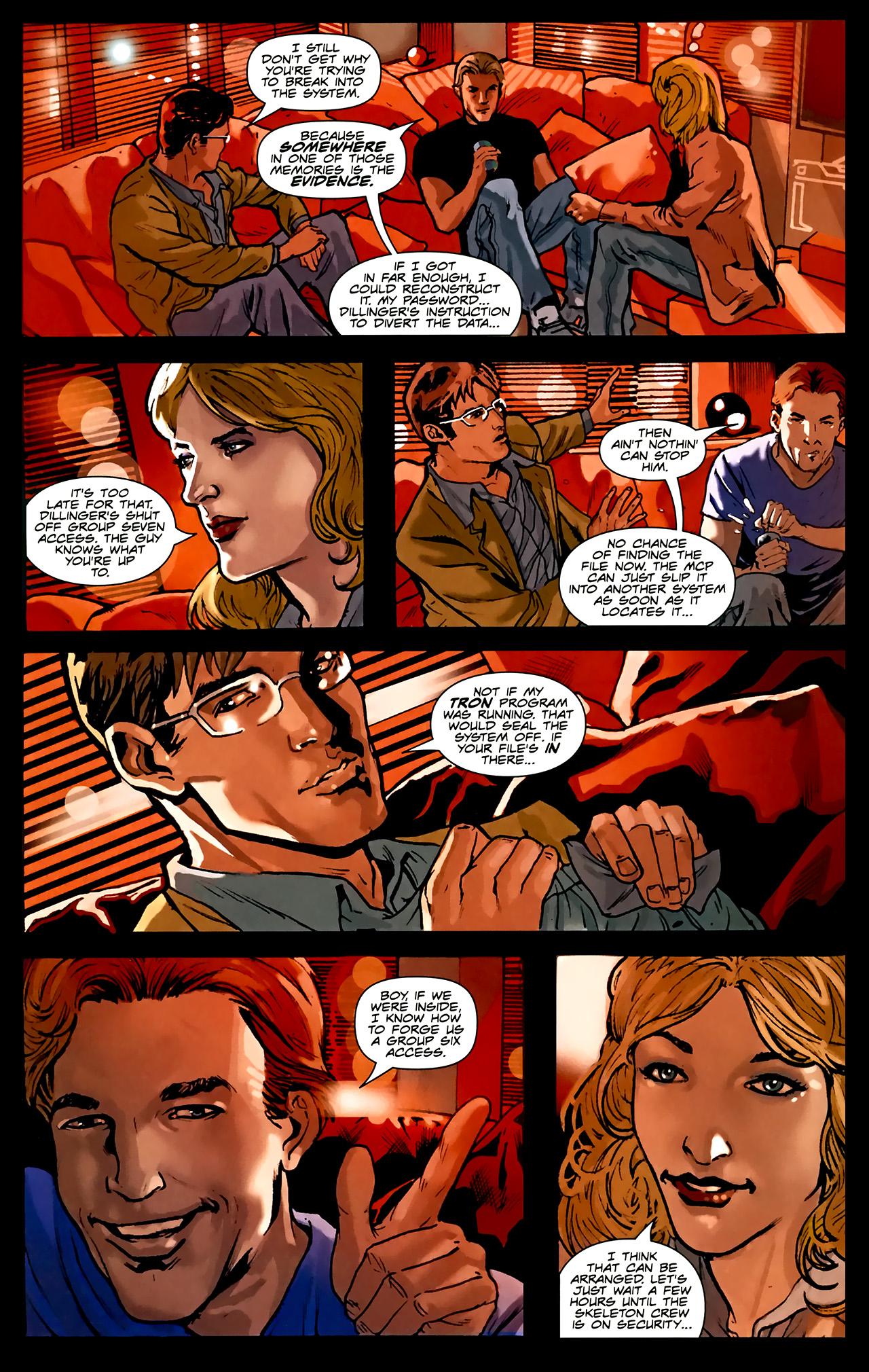 Read online TRON: Original Movie Adaptation comic -  Issue #1 - 24