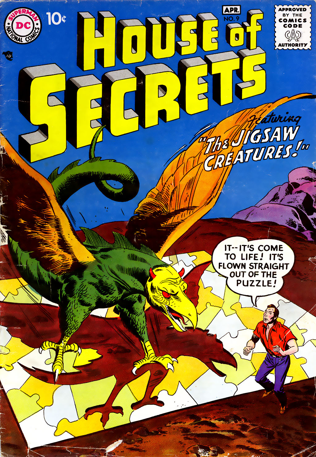 House of Secrets (1956) issue 9 - Page 1