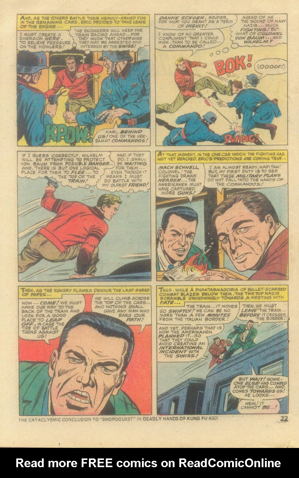 Read online Sgt. Fury comic -  Issue #138 - 24