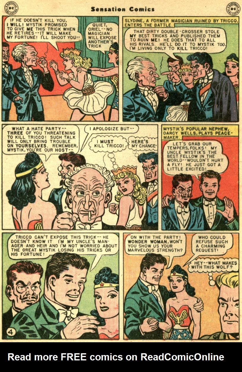 Read online Sensation (Mystery) Comics comic -  Issue #69 - 8