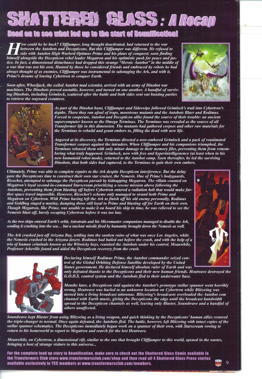 Read online Transformers: Collectors' Club comic -  Issue #27 - 9