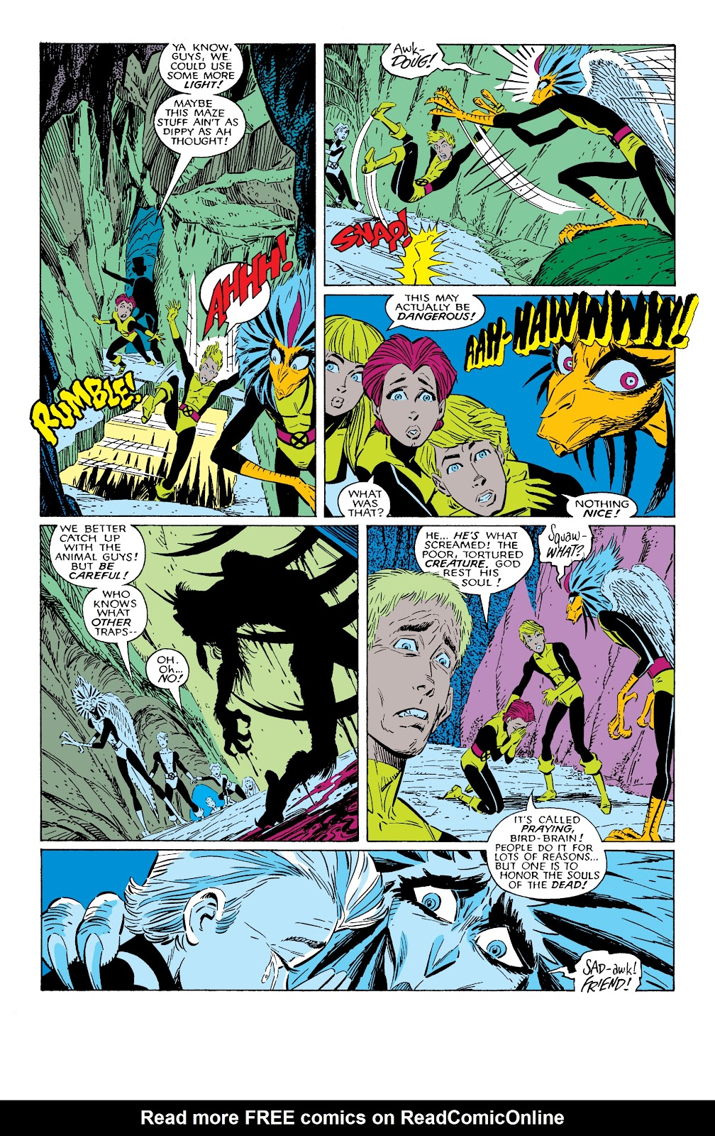 Read online X-Men Milestones: Fall of the Mutants comic -  Issue # TPB (Part 2) - 5