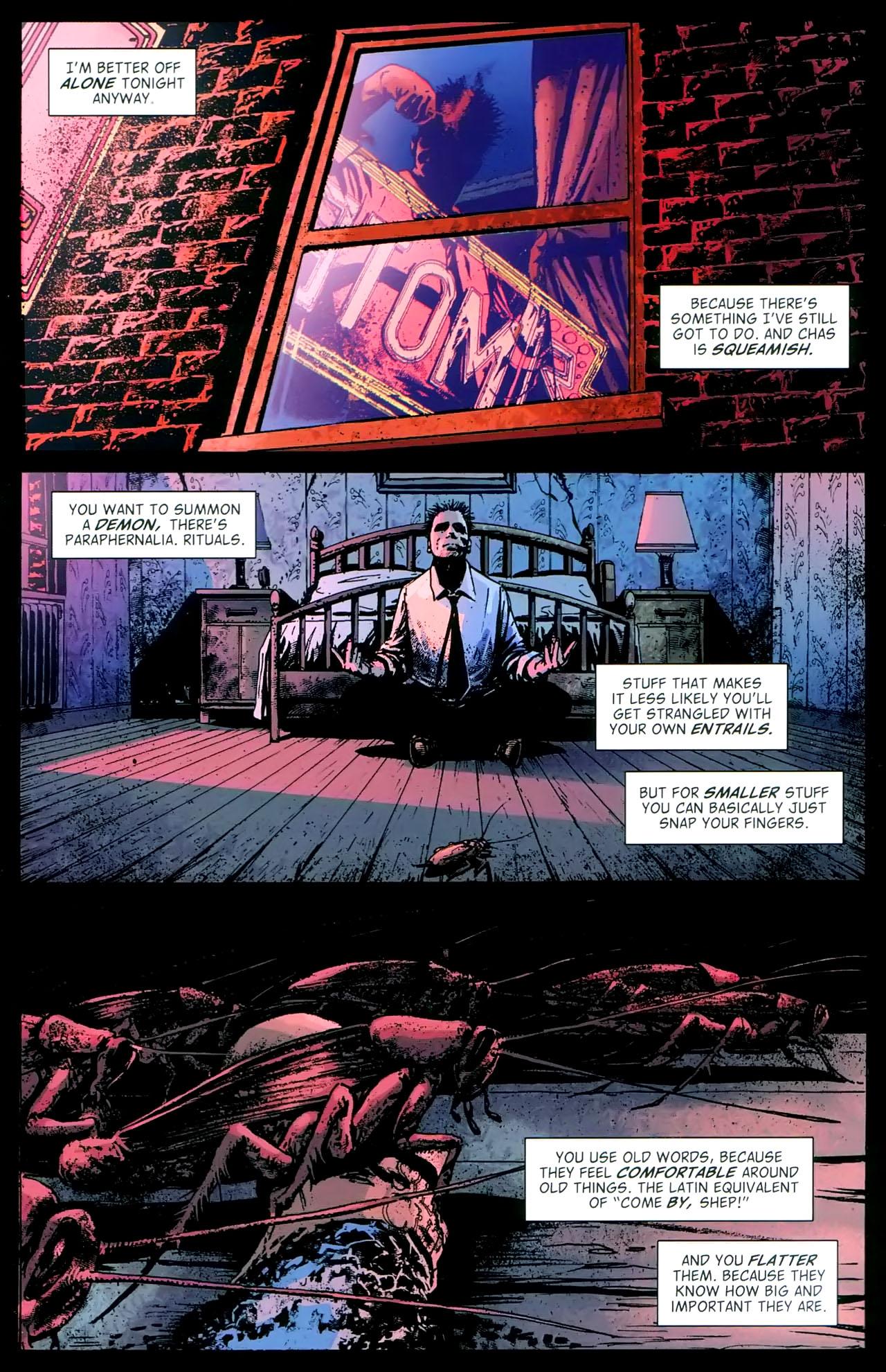 Read online John Constantine Hellblazer: All His Engines comic -  Issue # Full - 70