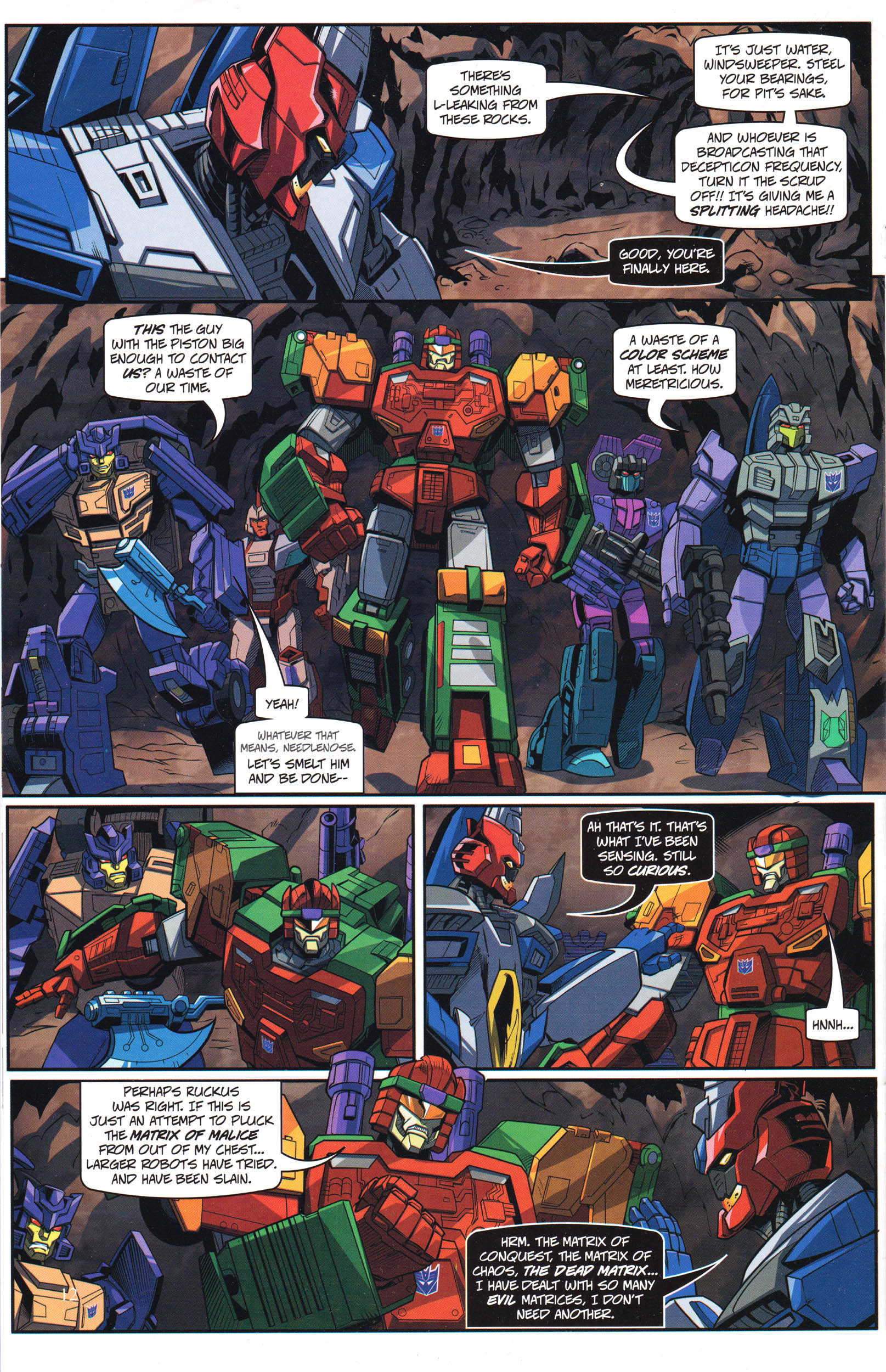 Read online Transformers: Collectors' Club comic -  Issue #69 - 12