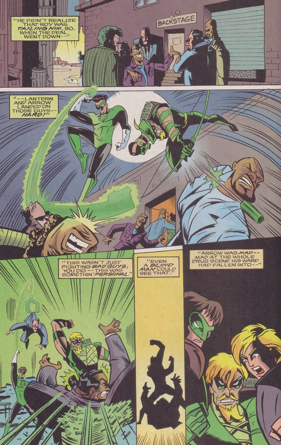 Read online Adventures in the DC Universe comic -  Issue #16 - 8