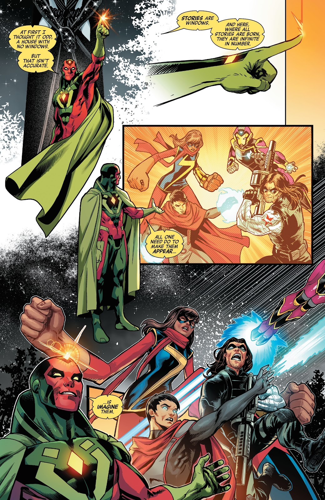 Read online Avengers No Road Home comic -  Issue #10 - 9