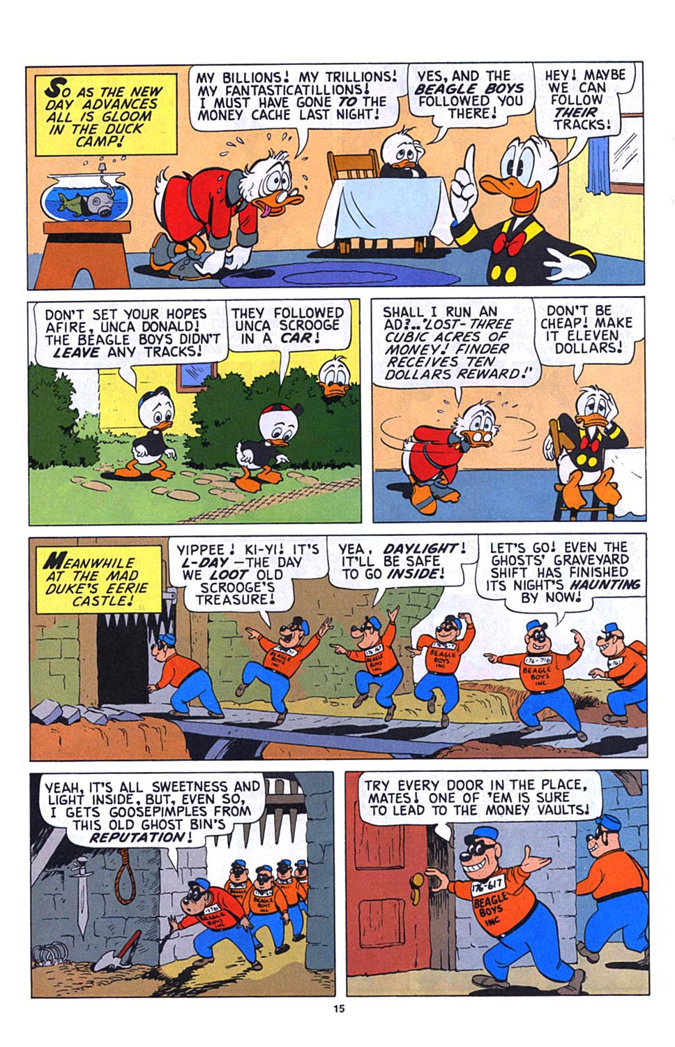 Read online Uncle Scrooge (1953) comic -  Issue #273 - 16