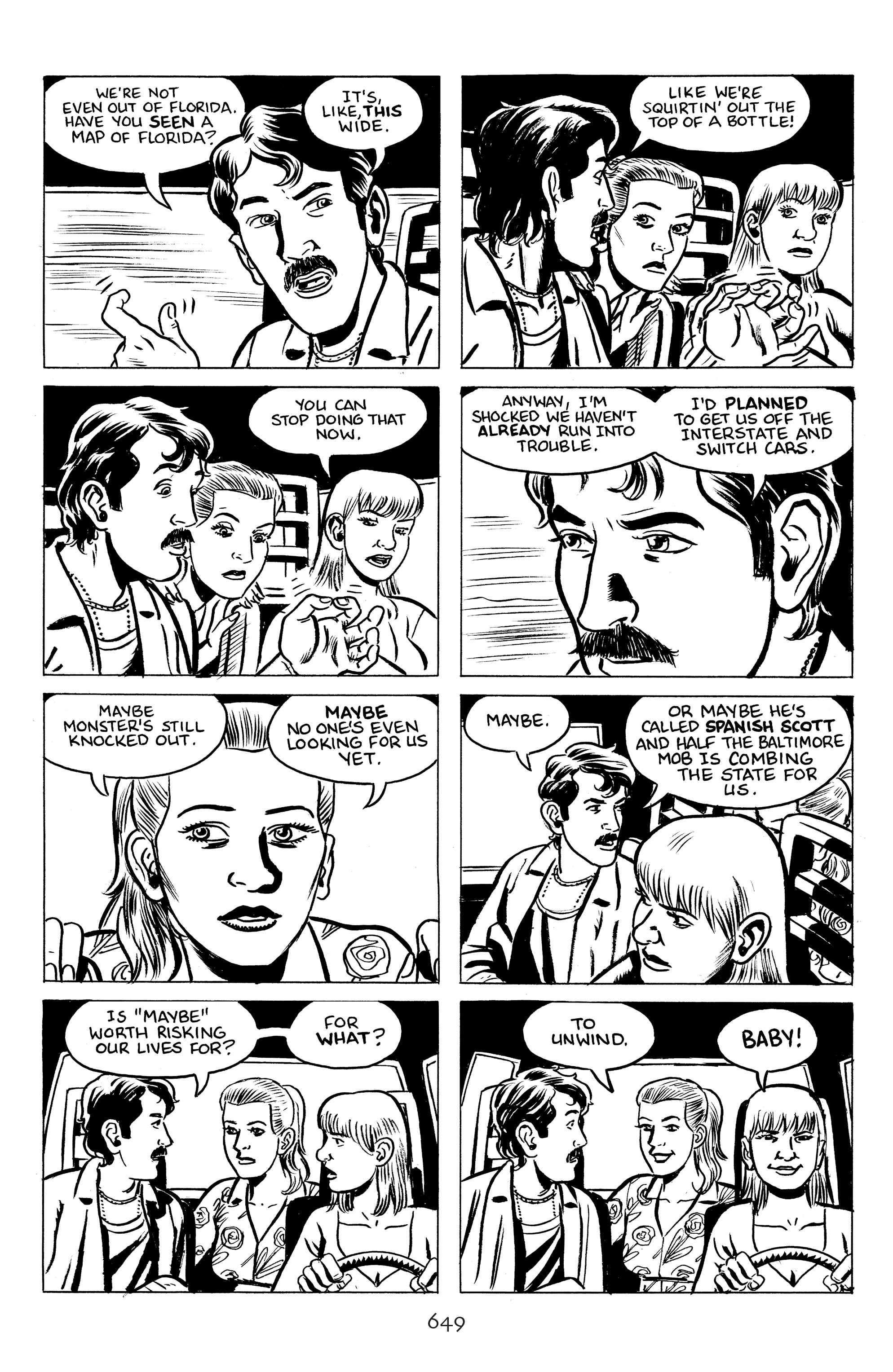 Read online Stray Bullets: Sunshine & Roses comic -  Issue #24 - 4