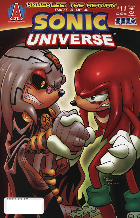 Read online Sonic Universe comic -  Issue #11 - 1