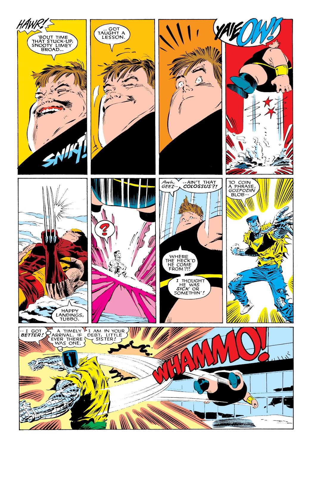 Read online X-Men Milestones: Fall of the Mutants comic -  Issue # TPB (Part 1) - 24