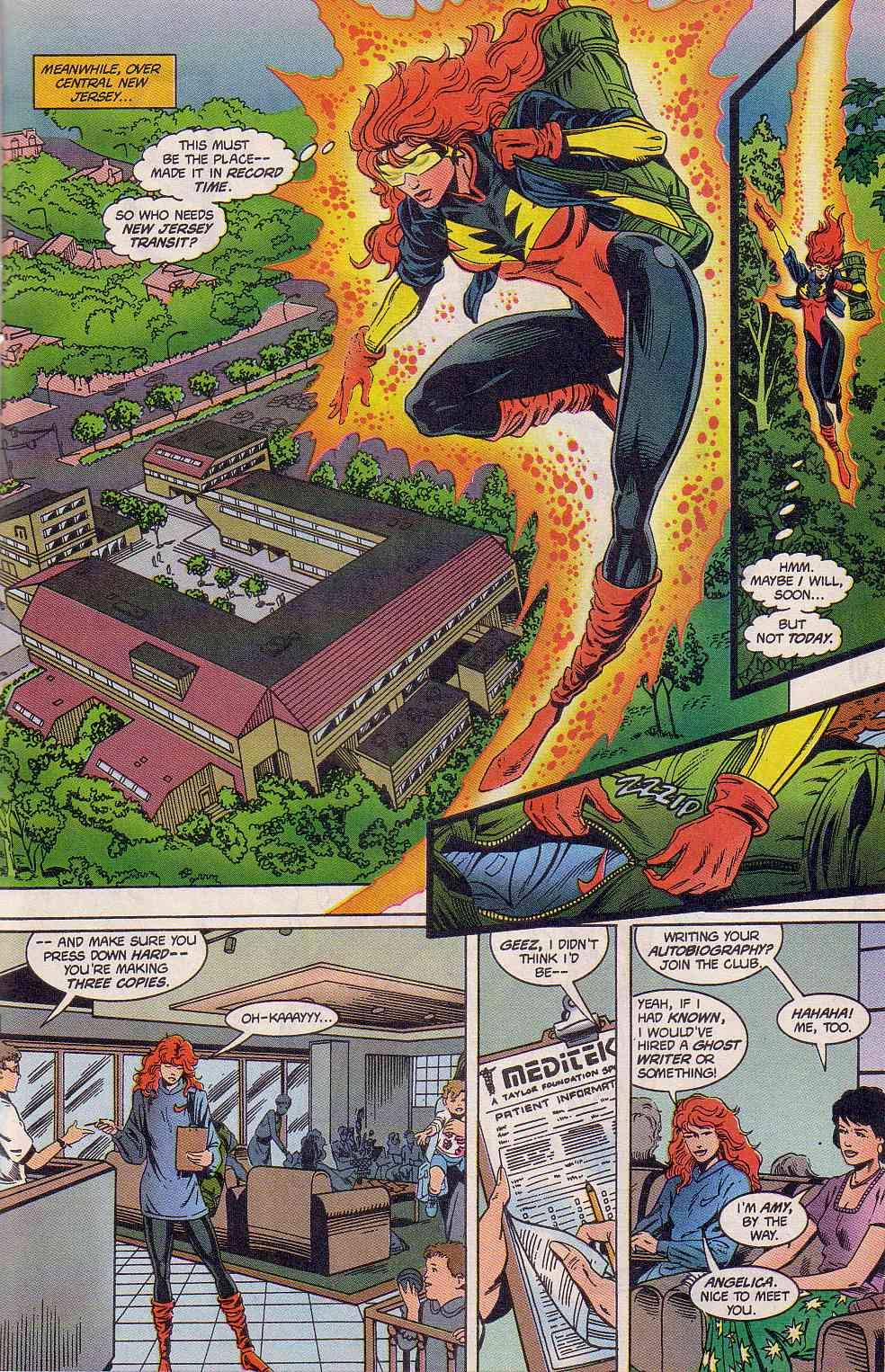 The New Warriors Issue #63 #67 - English 12