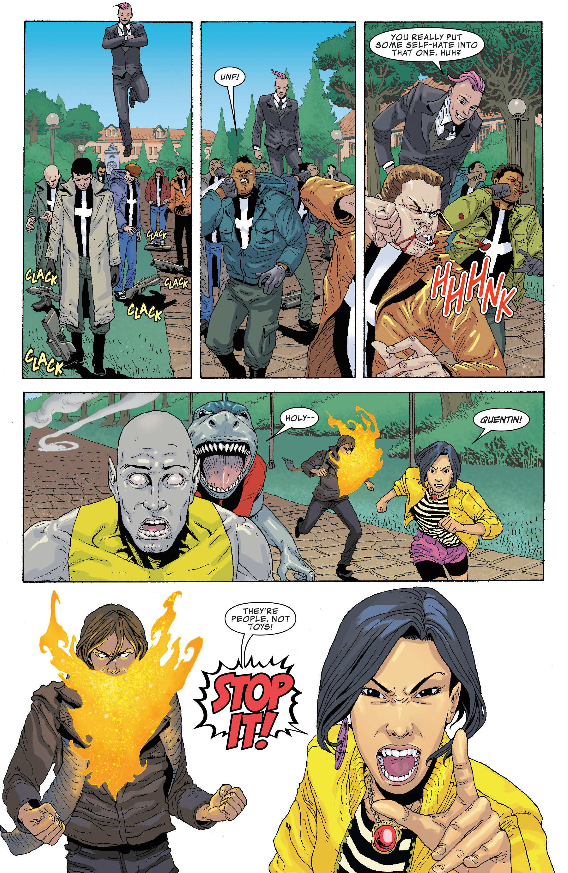 Read online Generation X (2017) comic -  Issue #2 - 9