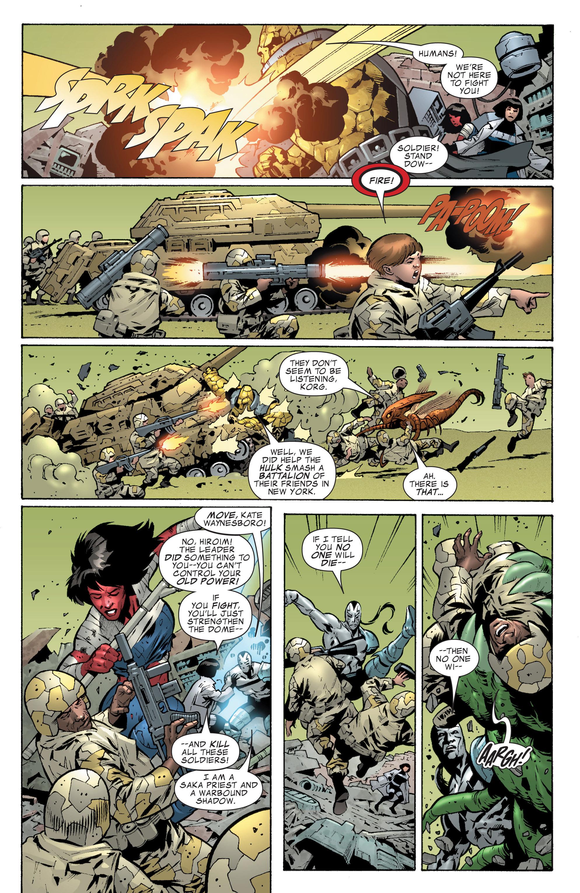 Read online World War Hulk Aftersmash: Warbound, Vol. 1 comic -  Issue #2 - 8