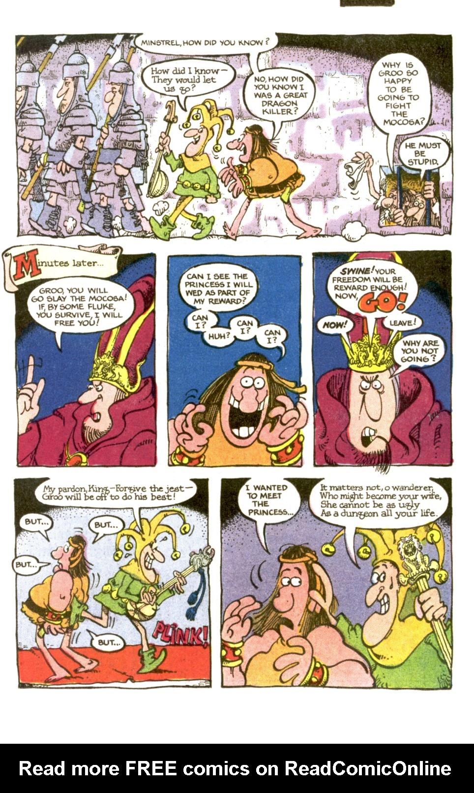 Read online Sergio Aragonés Groo the Wanderer comic -  Issue #2 - 7