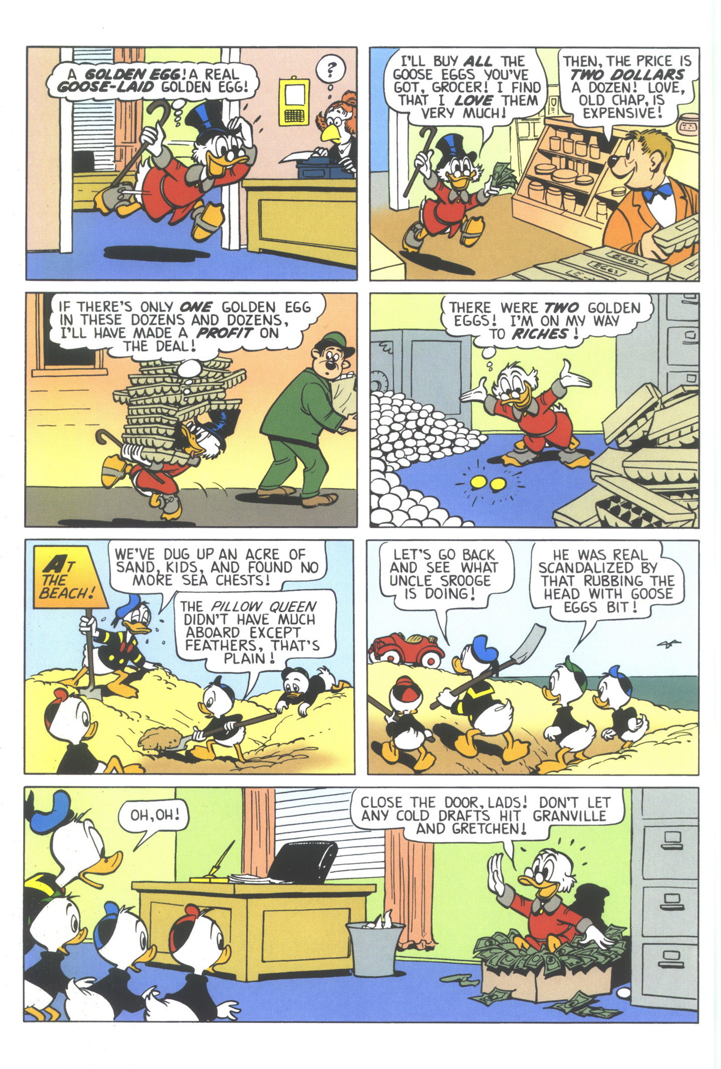 Read online Uncle Scrooge (1953) comic -  Issue #352 - 6