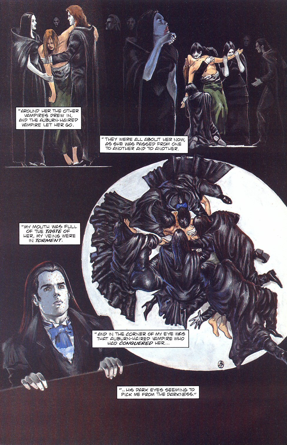 Read online Anne Rice's Interview with the Vampire comic -  Issue #8 - 18