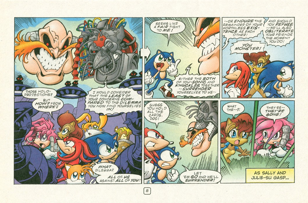 Read online Sonic Super Special comic -  Issue #12 - Sonic and Knuckles visa versa - 11