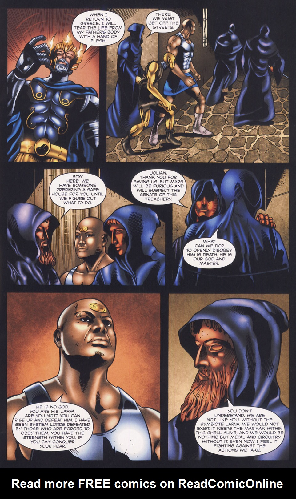 Read online Stargate SG-1: Fall of Rome comic -  Issue #3 - 15