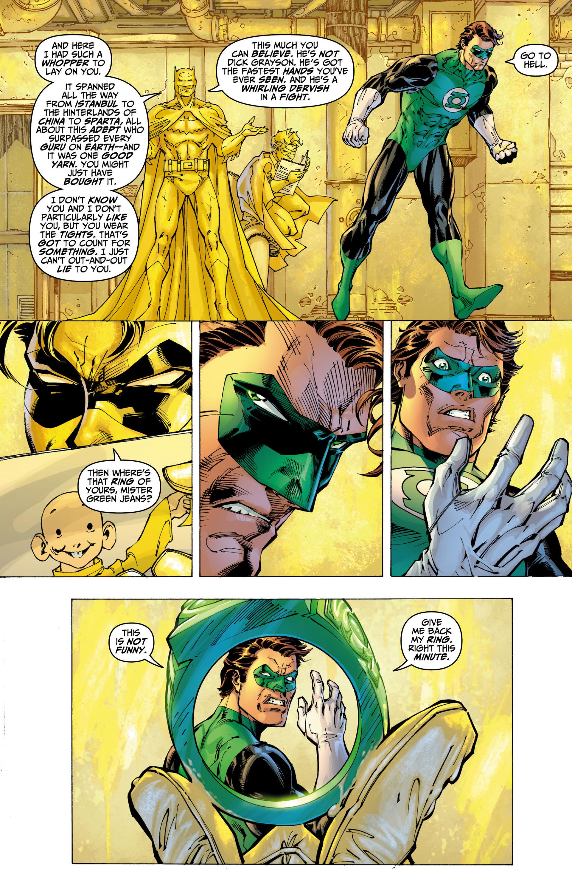 Read online All Star Batman & Robin, The Boy Wonder comic -  Issue #9 - 11