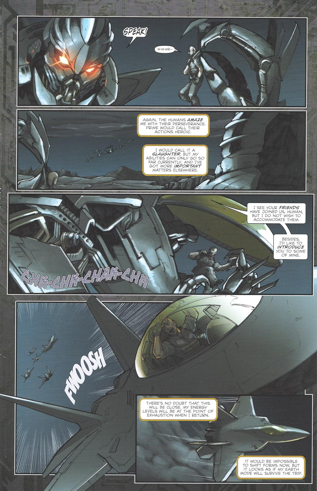 Read online Transformers: The Reign of Starscream comic -  Issue #2 - 19