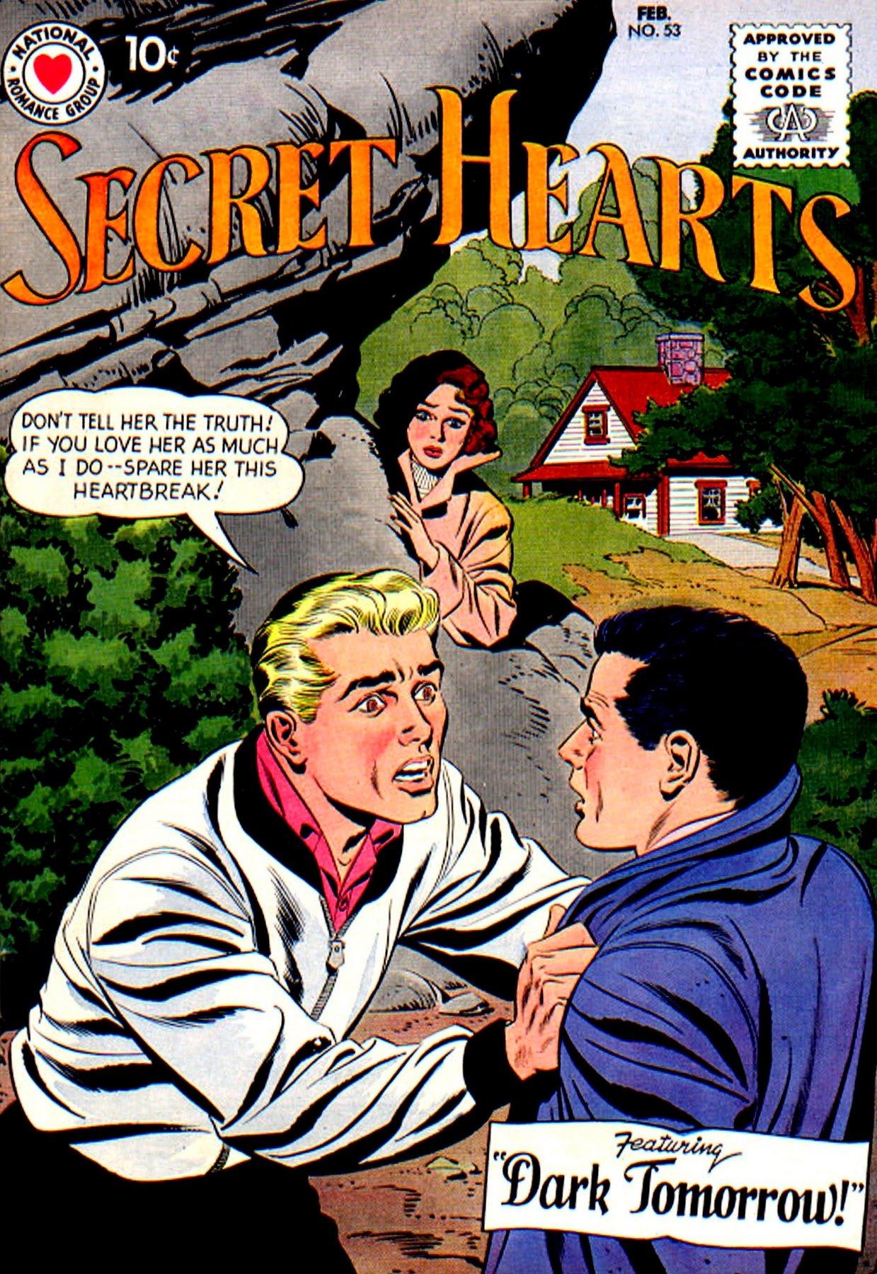 Read online Secret Hearts comic -  Issue #53 - 1
