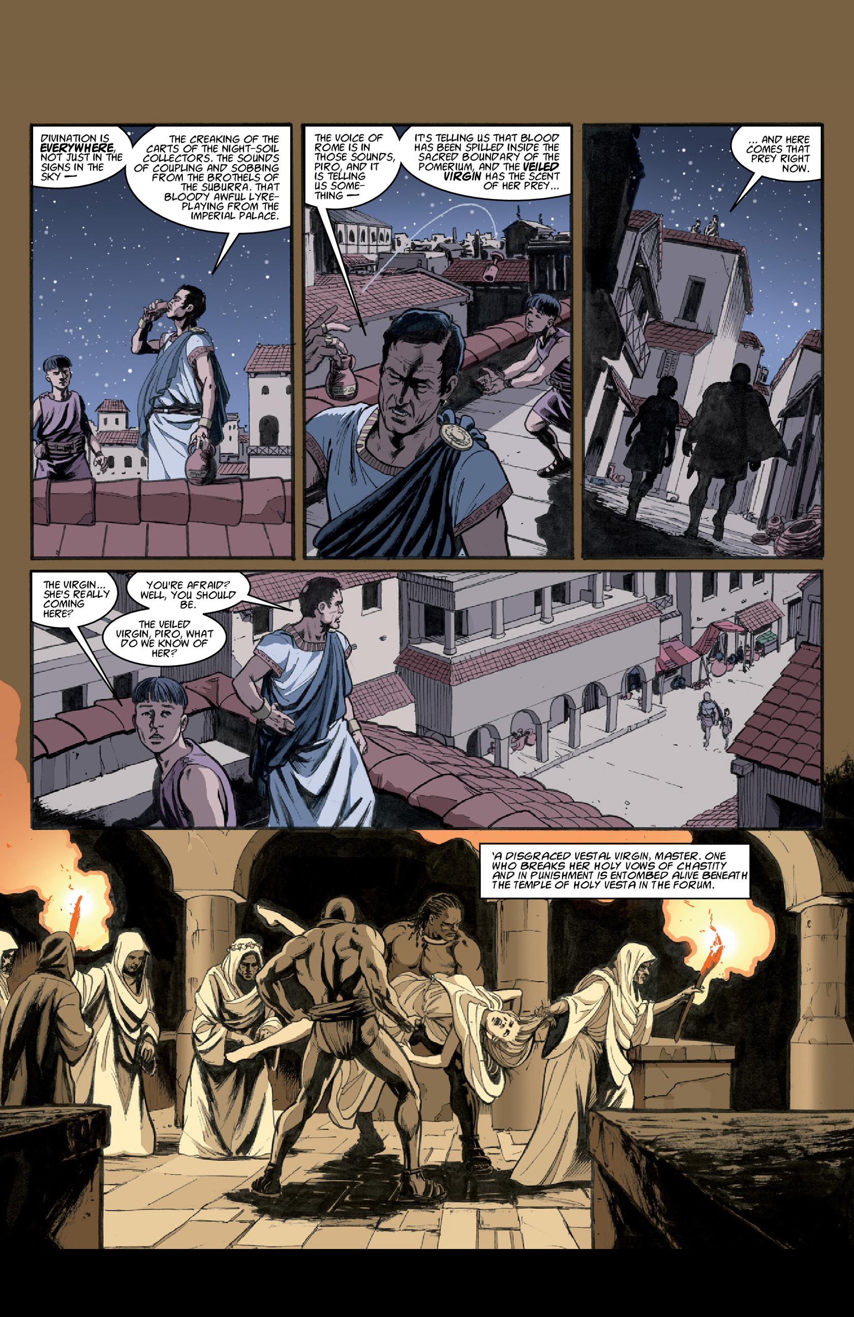 Read online Aquila comic -  Issue #3 - 21