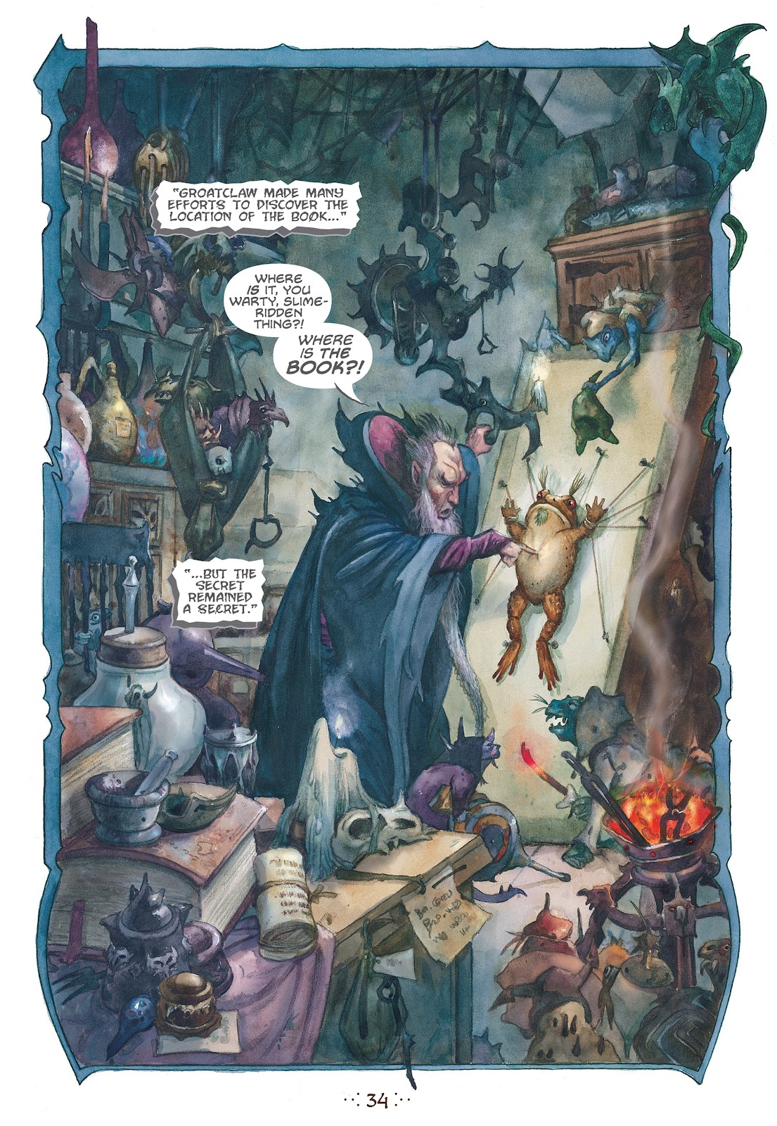 Read online The Wizard's Tale comic -  Issue # TPB - 31