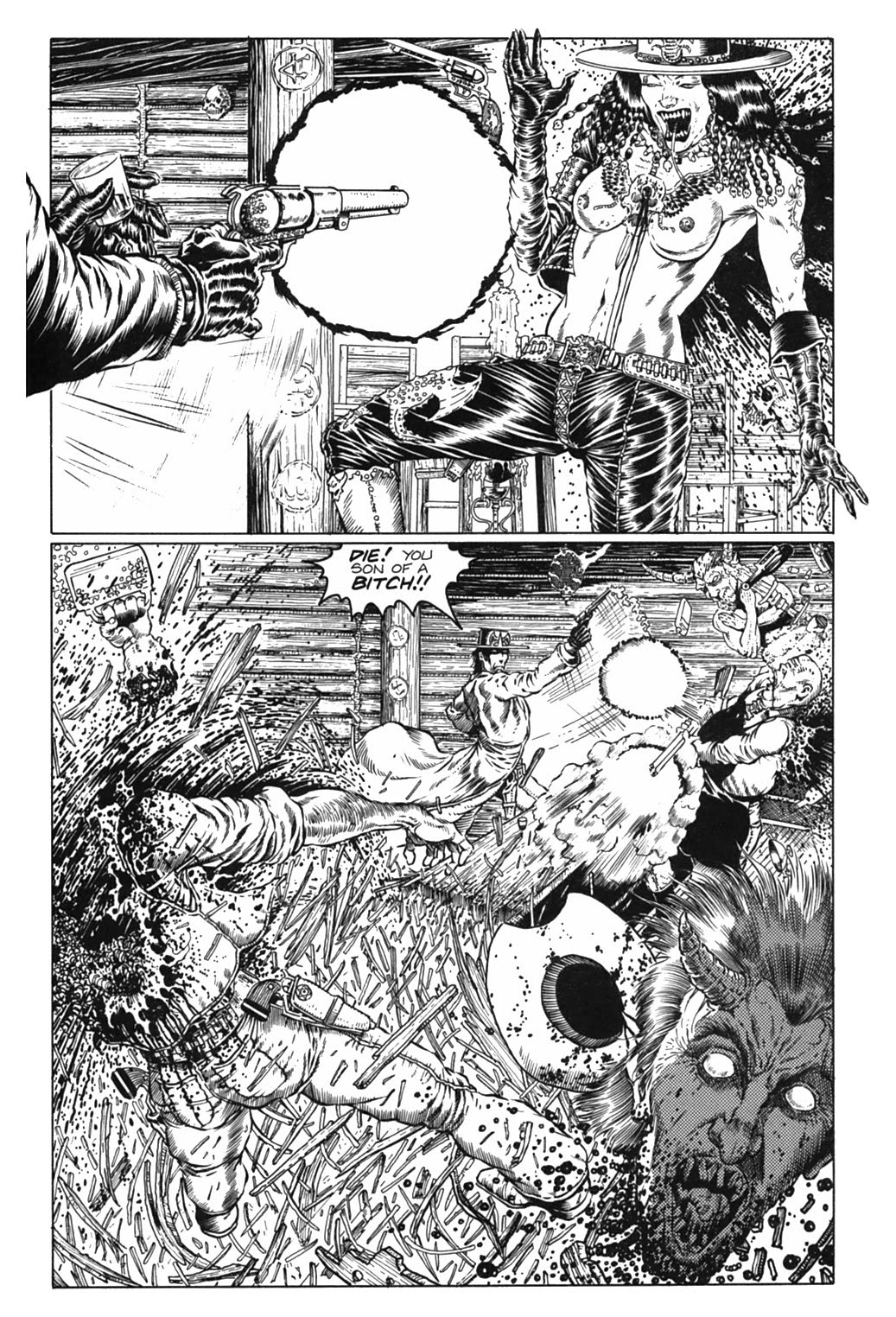 Read online Gunfighters in Hell comic -  Issue #3 - 20