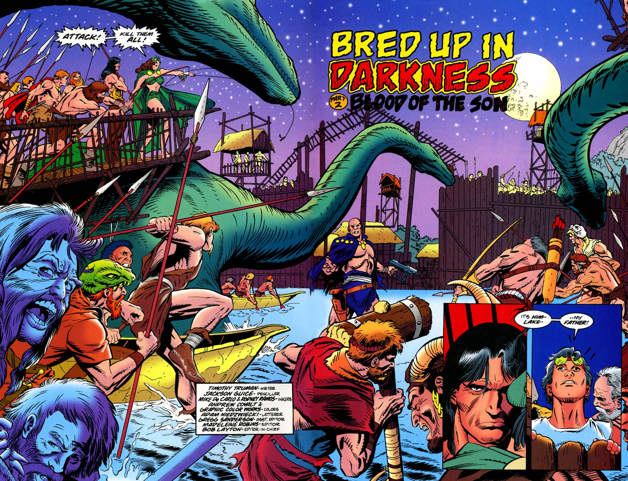 Read online Turok, Dinosaur Hunter (1993) comic -  Issue #46 - 3