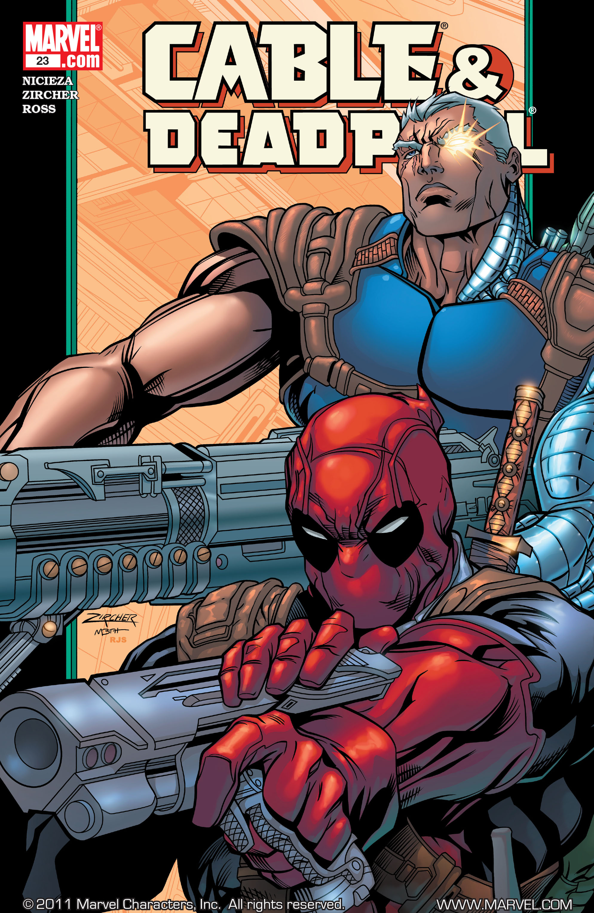 Cable and Deadpool 23 Page 1