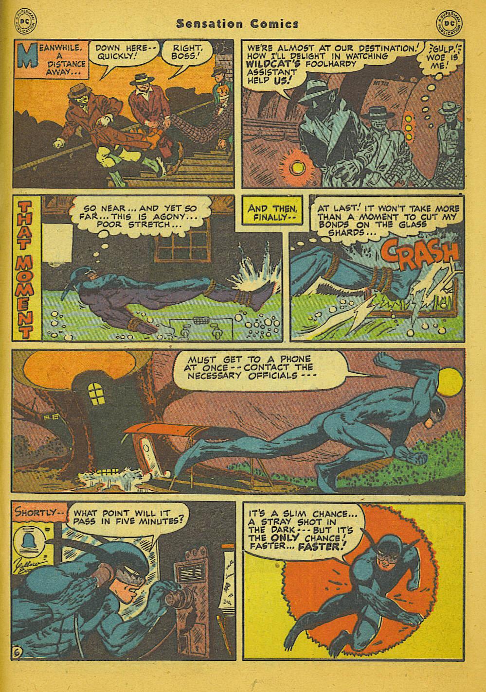 Read online Sensation (Mystery) Comics comic -  Issue #66 - 47