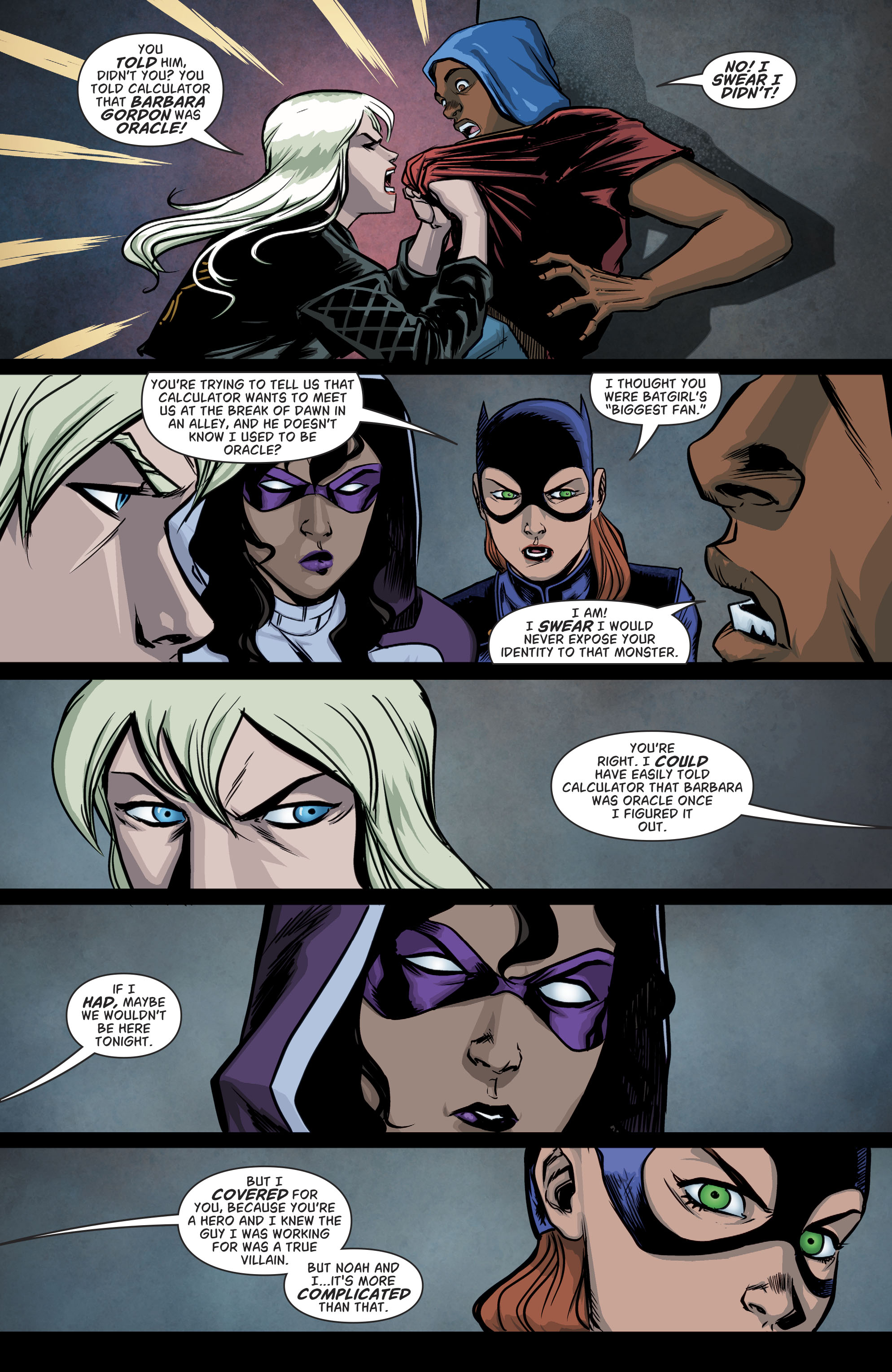 Read online Batgirl and the Birds of Prey comic -  Issue #11 - 10