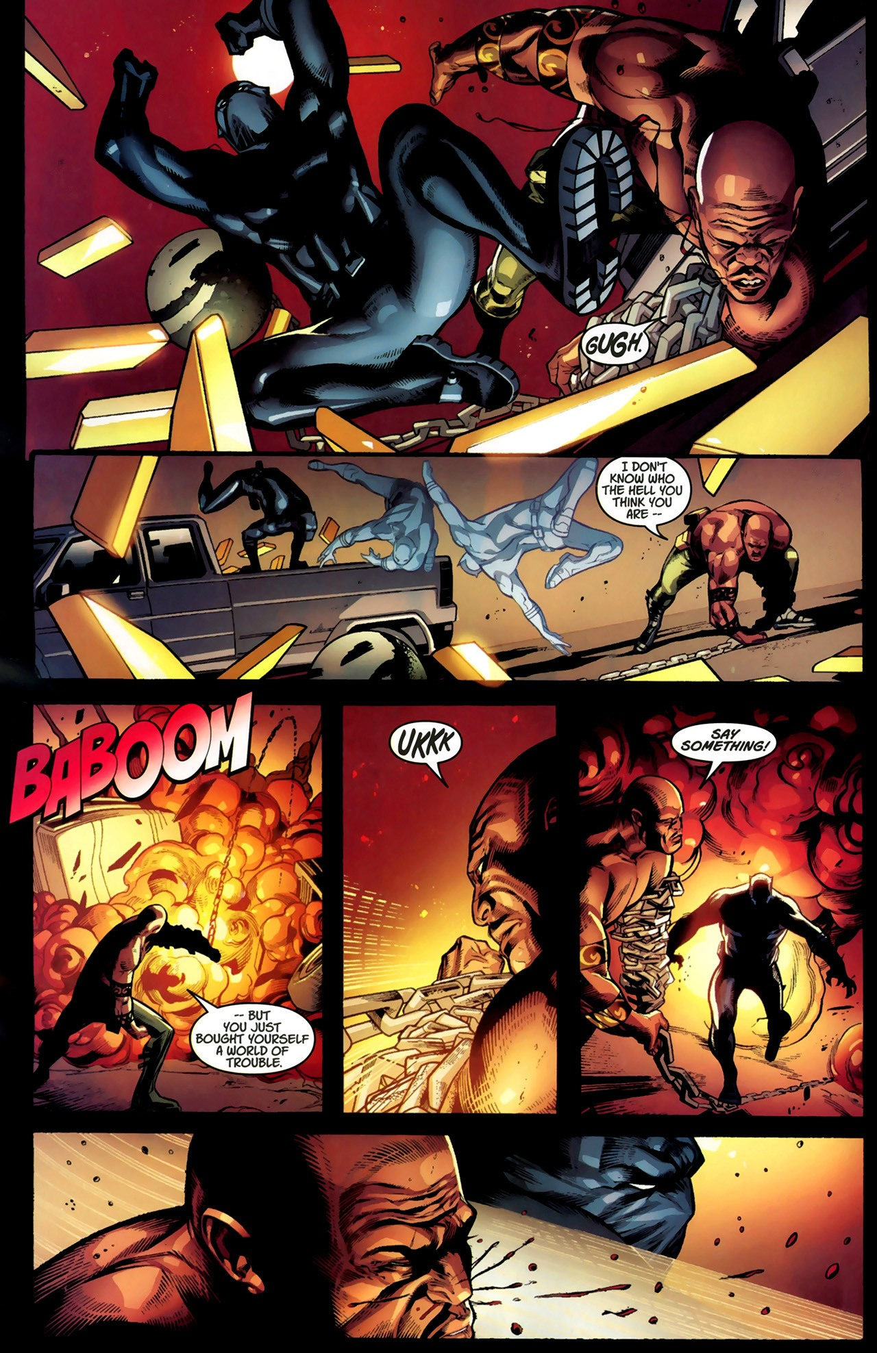 Read online Ultimate Captain America (2008) comic -  Issue # Full - 19