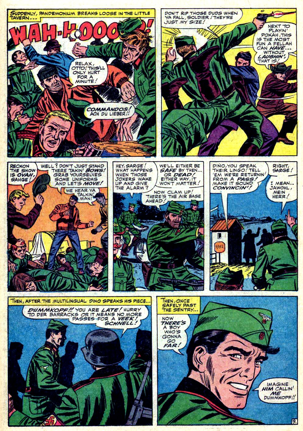 Read online Sgt. Fury comic -  Issue #19 - 14