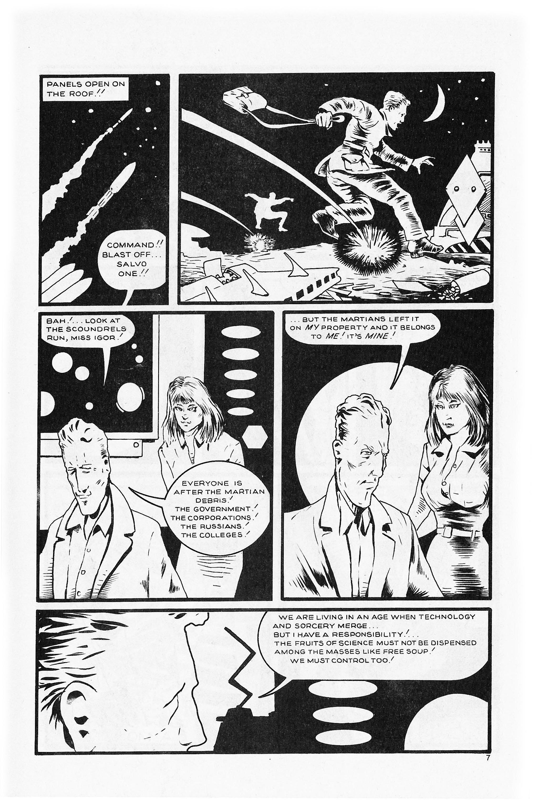 Read online Flaming Carrot Comics (1984) comic -  Issue #5 - 9