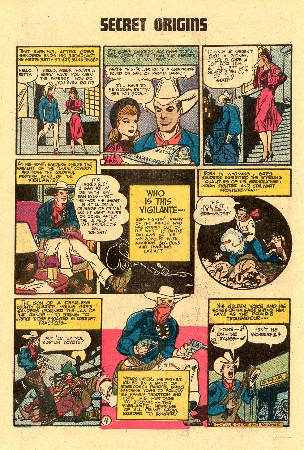 Read online Secret Origins (1973) comic -  Issue #4 - 6