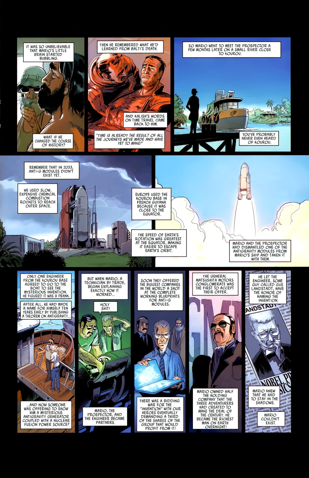 Read online Universal War One: Revelations comic -  Issue #3 - 33