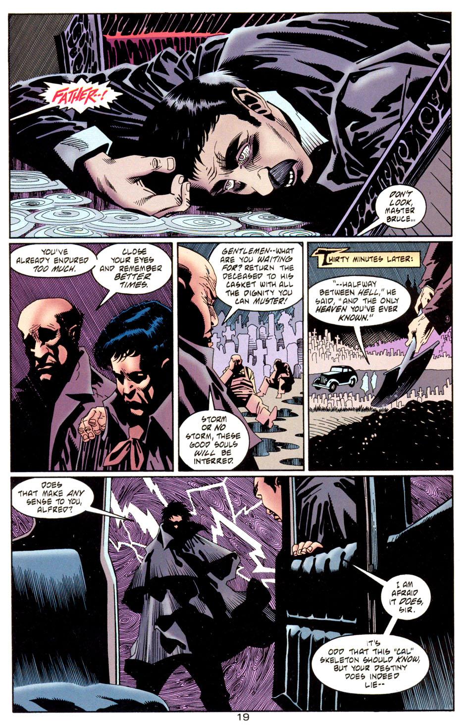 Read online Batman: Haunted Gotham comic -  Issue #1 - 21