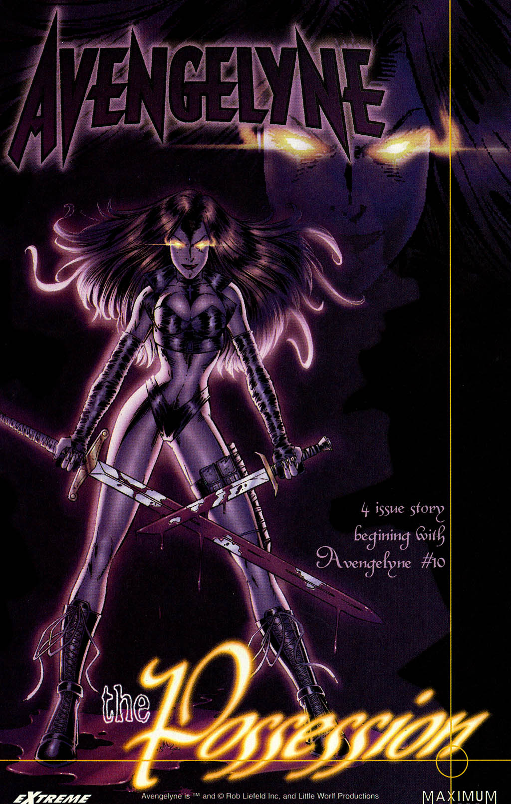Read online Avengelyne (1996) comic -  Issue #9 - 23